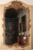 Louis XV trumeau-mirror, 18th century