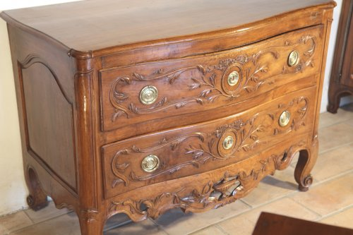 """Furniture  - 18th C """"sauteuse"""" Commode From Nîmes (Provence)."""