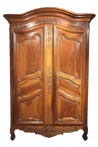 18thC Marriage Armoire