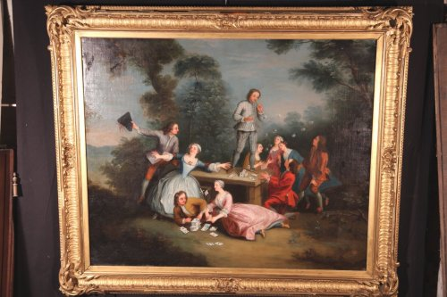 Paintings & Drawings  - Late18th C French School- Soap bubbles