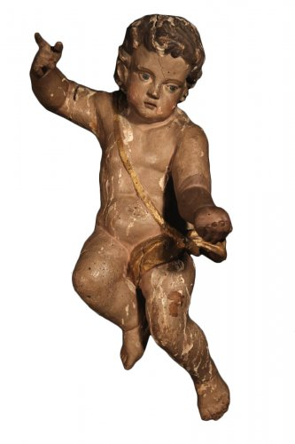 18th C Baroque Cherub