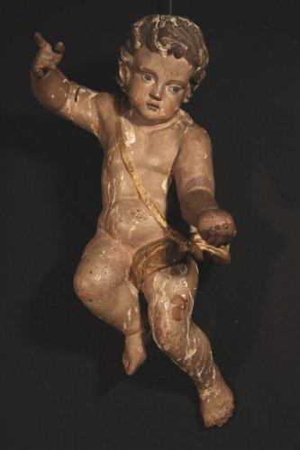 18th C Baroque Cherub - Religious Antiques Style