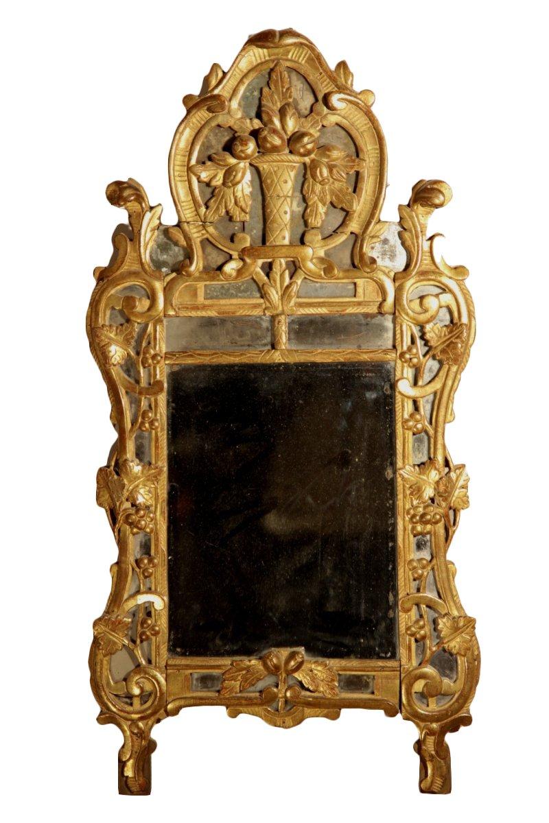 Miroir parcloses dite de beaucaire provence xviiie n for Miroir xviii