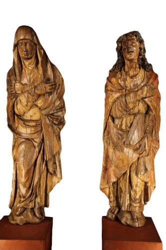 The Virgin Mary and St-John, Northern Europe circa 1500