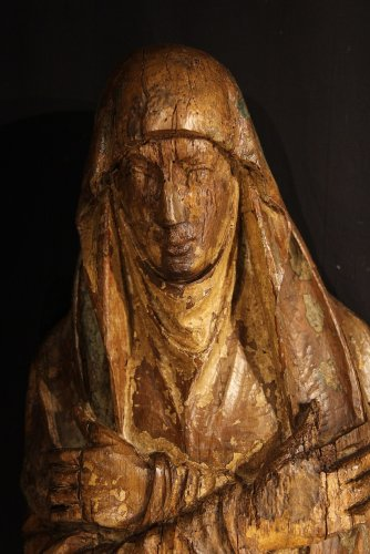 Sculpture  - The Virgin Mary and St-John, Northern Europe circa 1500
