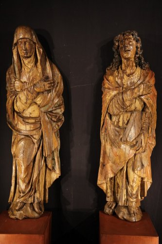 16th century - The Virgin Mary and St-John, Northern Europe circa 1500