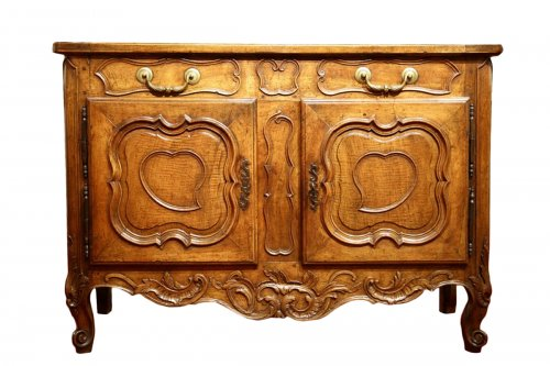 French 18thC Louis XV Credence buffet (sideboard) from Provence.