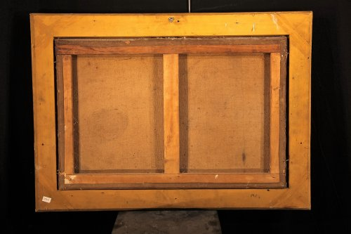 Paintings & Drawings  - 18th C French School-: Birds' cage