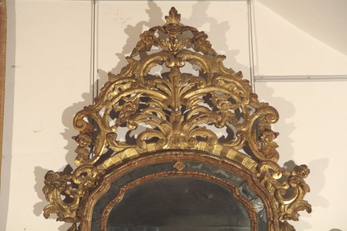 Barocchetto (early18thC) Italian Mirror - Mirrors, Trumeau Style French Regence