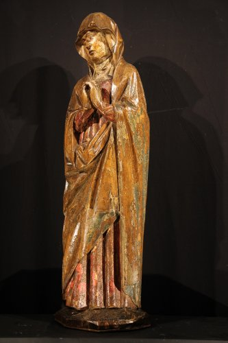 Sculpture  - Early 16th C statue. Virgin from a Calvary.  From Germany.