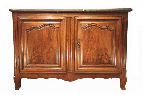 18thC Louis XV Hunter Buffet (dresser) from Lyon