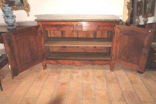 Furniture  - 18thC Louis XV Hunter Buffet (dresser) from Lyon