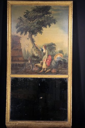 End of 18th C Louis XVI Trumeau -