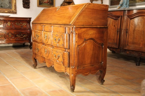 "Furniture  - 18th C writing ""commode"" (chest of drawers).From Provence"