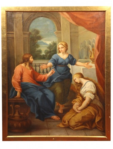 Early 18thC italian school -  Scene of Christ's life