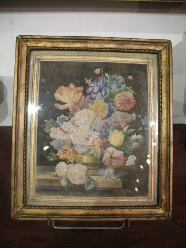Watercolour. End of 18thC French school. - Paintings & Drawings Style