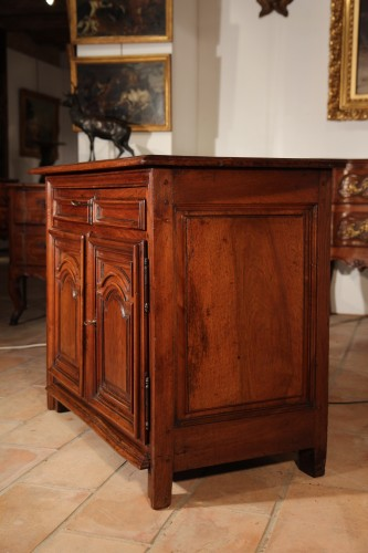 17th C small Louis XIV dresser.  From Ile de France -