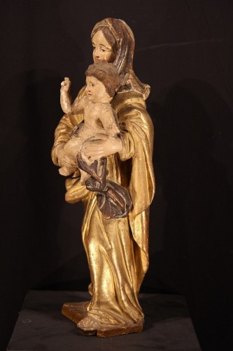 Early 18th Century Virgin and Child - Sculpture Style