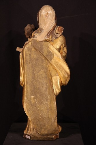 Early 18th Century Virgin and Child -