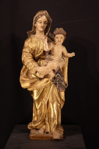 18th century - Early 18th Century Virgin and Child