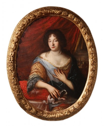 Half-length portrait of a lady - Provencal School of the late 17th century