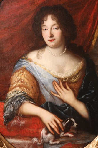 Half-length portrait of a lady - Provencal School of the late 17th century - Paintings & Drawings Style