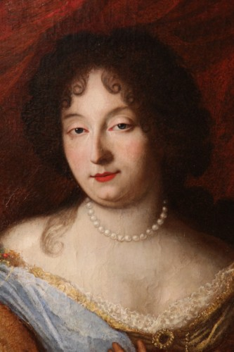Paintings & Drawings  - Half-length portrait of a lady - Provencal School of the late 17th century