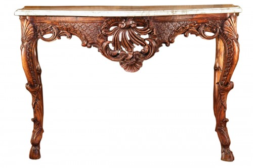 Early 18th C Regency console table