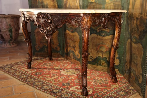 Early 18th C Regency console table -