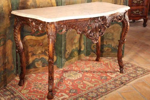 18th century - Early 18th C Regency console table