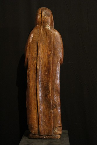 Sculpture  - Early 16th C Statue. The Virgin Annunciate From Germany