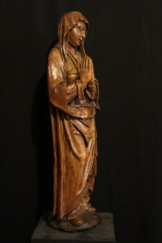 Early 16th C Statue. The Virgin Annunciate From Germany -