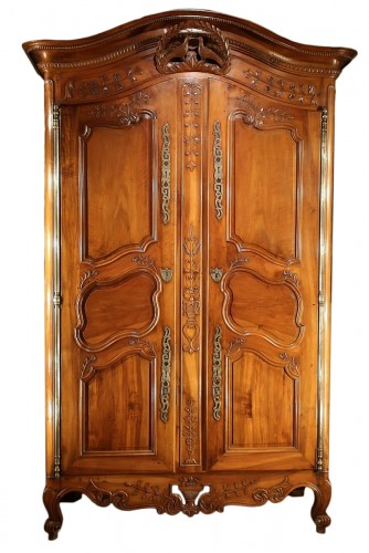 Late 18th C marriage  armoire (wardrobe) from Provence
