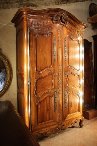 Late 18th C marriage  armoire (wardrobe) from Provence -