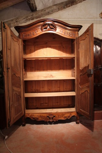 18th century - Late 18th C marriage  armoire (wardrobe) from Provence
