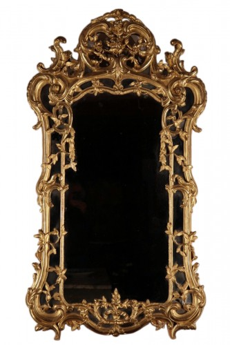 "18th C Mirror said ""from Beaucaire""."