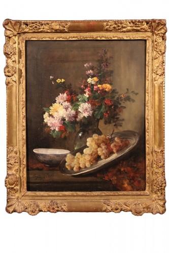 Eugène PETIT 1839-1886) - Still-life