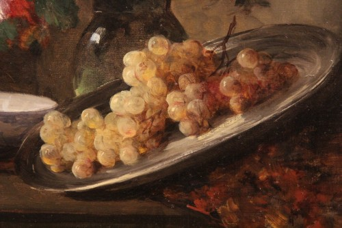 Eugène PETIT 1839-1886) - Still-life - Paintings & Drawings Style