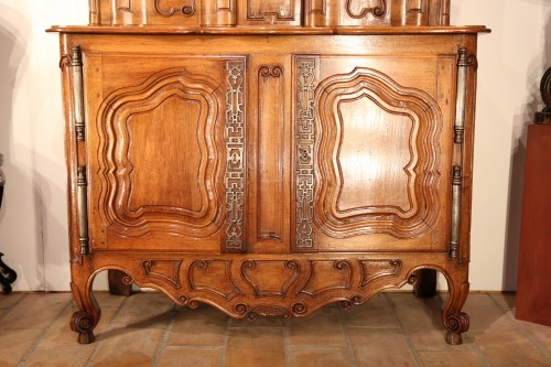 Furniture  - Late 18th C Buffet (sideboard) with sliding doors from Fourques