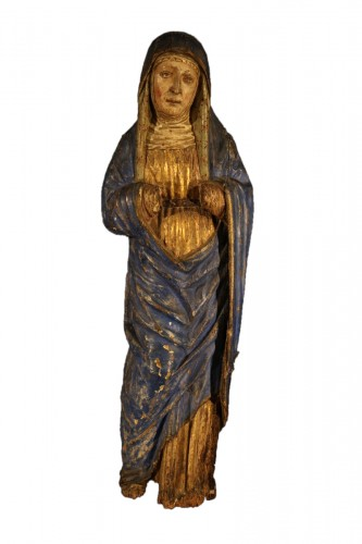 16th C Sorrowful Virgin From South Germany