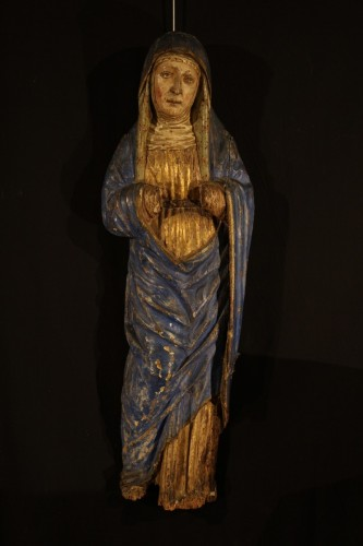 16th C Sorrowful Virgin From South Germany -