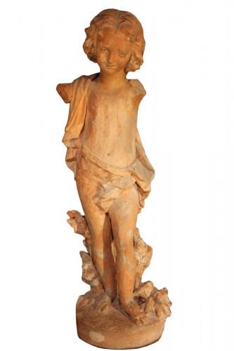 19th C Garden sculpture