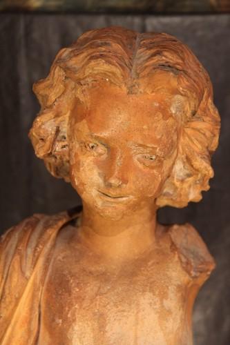 19th C Garden sculpture - Sculpture Style