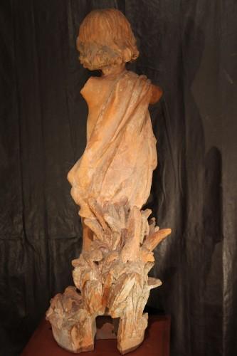 19th C Garden sculpture -