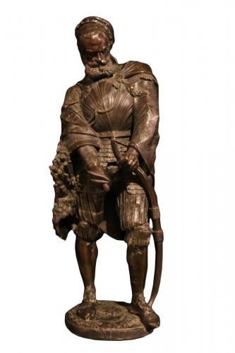 Renaissance Archer.- - Guillaume DENIERE (1815-1903)