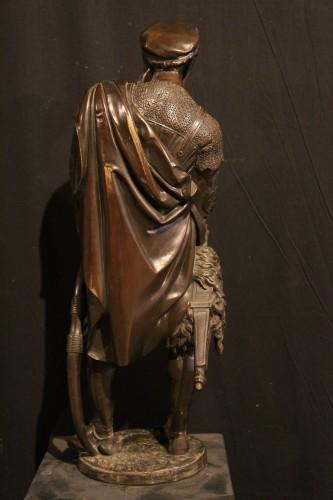 Renaissance Archer.- - Guillaume DENIERE (1815-1903) -