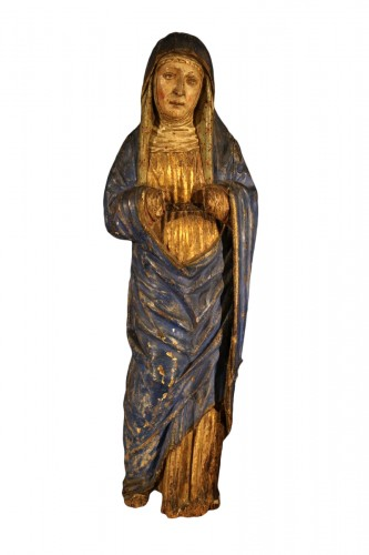 Sorrowful Virgin - South Germany 16th century