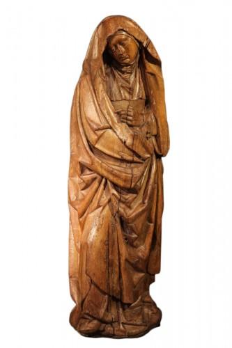 Second half of 15th C.Sorrowful Virgin, Burgondo-Flemish school