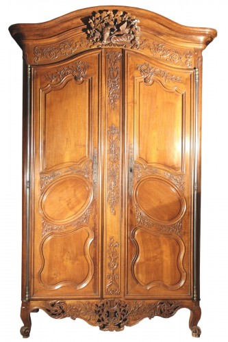 18thC Marriage Armoire (wardrobe) from Nîmes