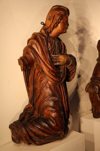 Group of the Annunciation. Italy ? Circa 1600. -